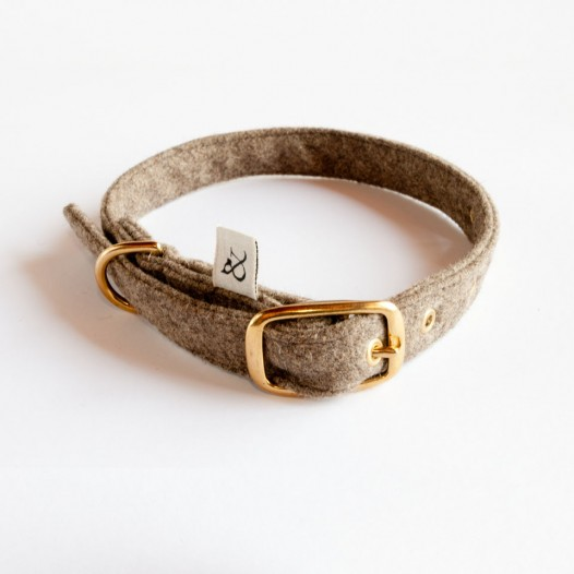 Dog Collar Country Wool
