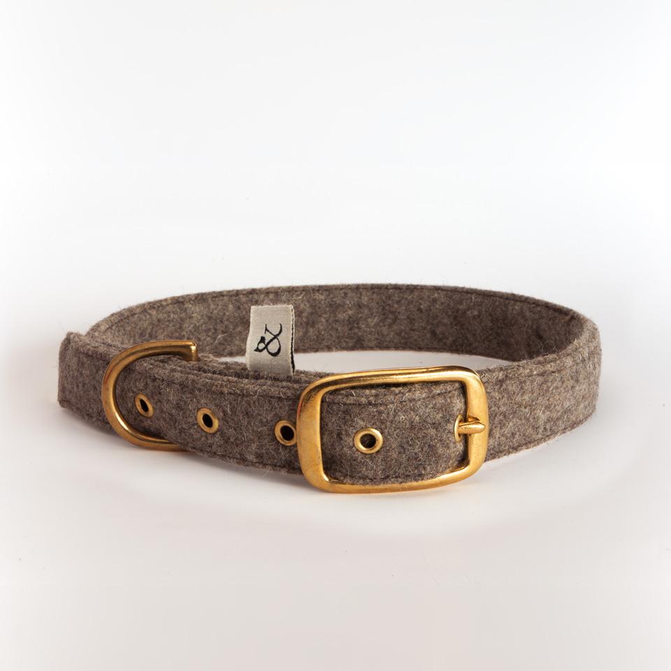Dog Collar Country Wool