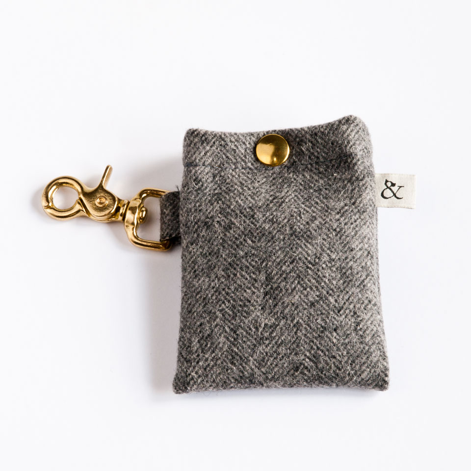 Dog Accessories. Dog Walk Bag- Urban Wool
