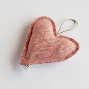 Berry Wool Heart