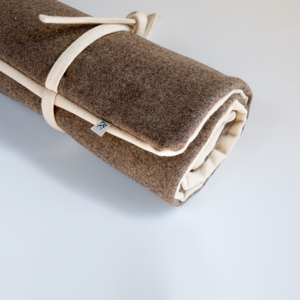Cama enrollable para perrro - Country Wool
